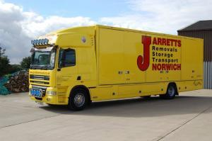 Jarretts Removals Storage Transport Norwich